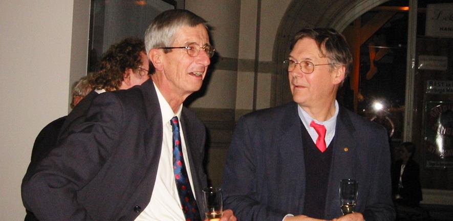 Richard Jackson and Tim Hunt.
