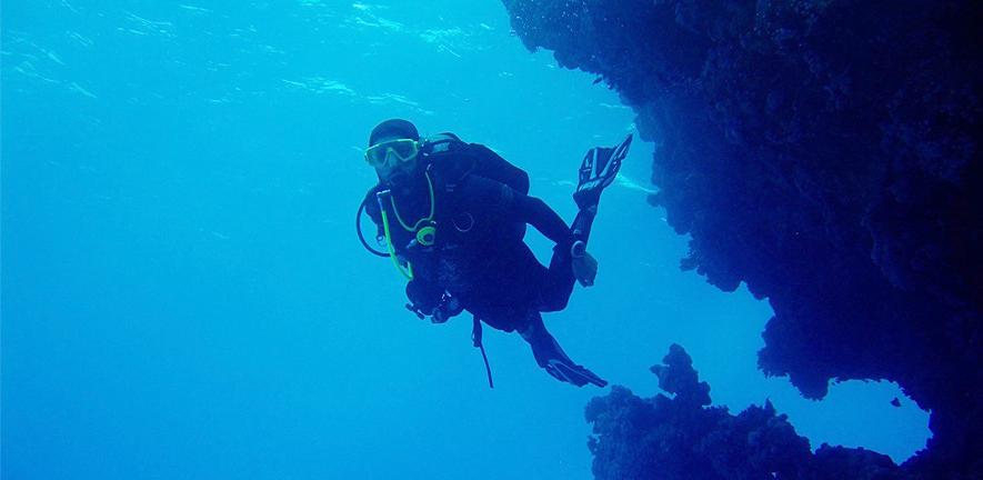 Ross Waller in the Red Sea, around the Egypt/Sudan border.