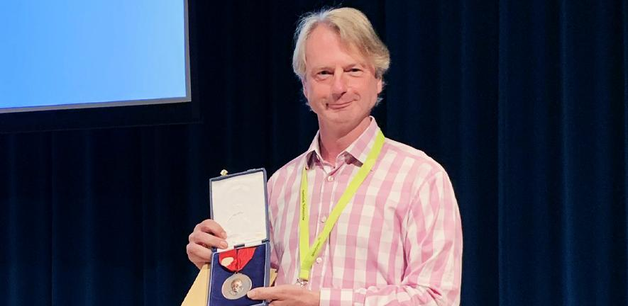 Paul Dupree receives B.A. Stone Award