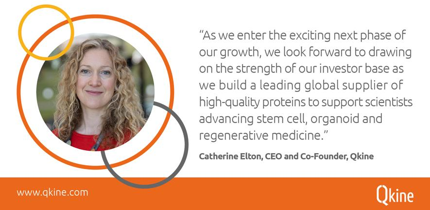 Dr Catherine Elton, CEO and Co-Founder, Qkine.