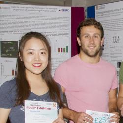 Second Year Postgraduate Poster Sessions 2018 prize winners.