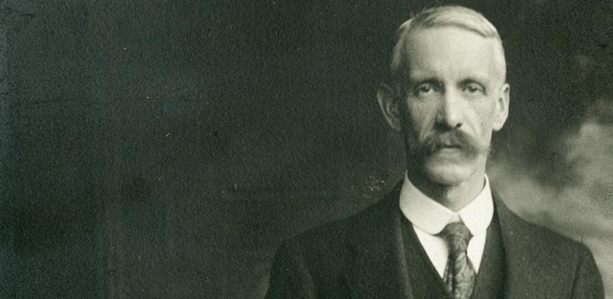 Frederick Gowland Hopkins, the first Sir William Dunn Professor of Biochemistry, c1916