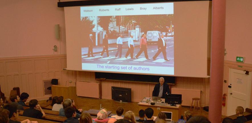 Dr Bruce Alberts' seminar