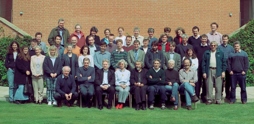 Group Leaders at the Department's annual Away Days in 2002.