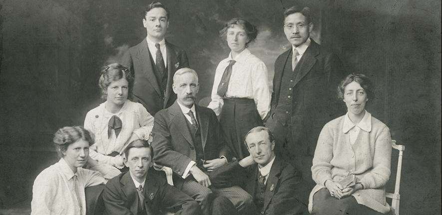 Biochemical Laboratory staff, 1916