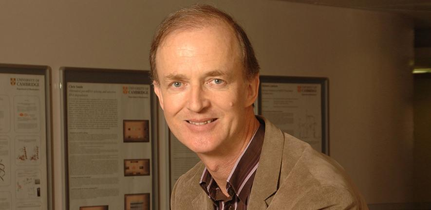 Professor Peter Leadlay.